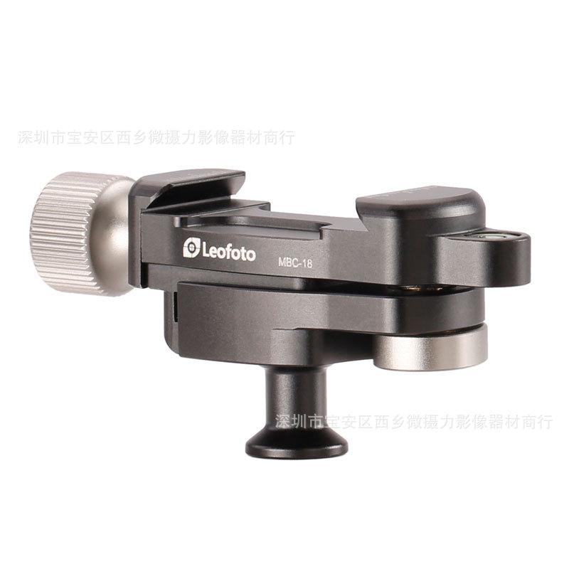 Leofoto Chân giá đỡ MBC-18 mini chuyển đổi bóng đầu micro-camera điện thoại