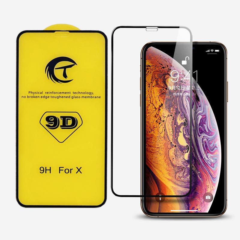 ZHONGXING Miếng dán màn hình Iphone 6 Áp dụng phim Apple x ủ 9d toàn màn hình XR phim điện thoại di