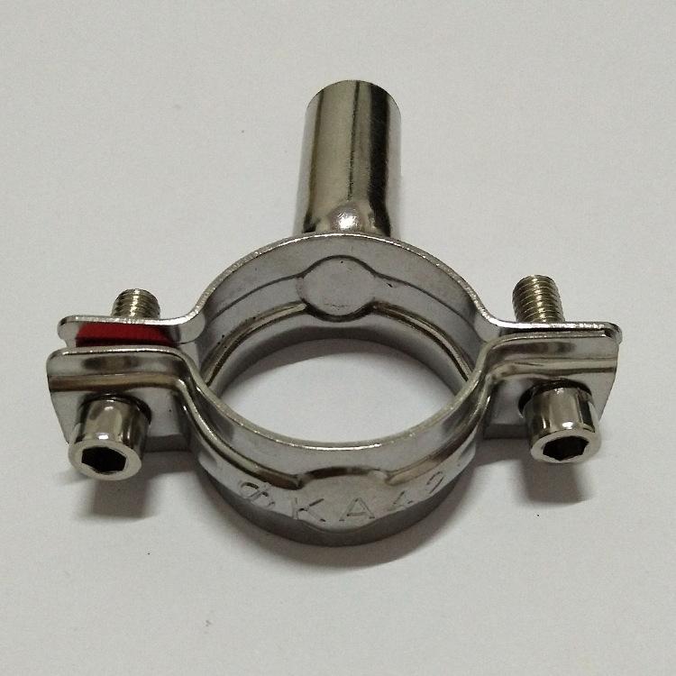 YUFAN Ống kẹp Vệ sinh ống thép không gỉ 304 khung ống khung ống kẹp ống kẹp ống kẹp ống kẹp ống kẹp