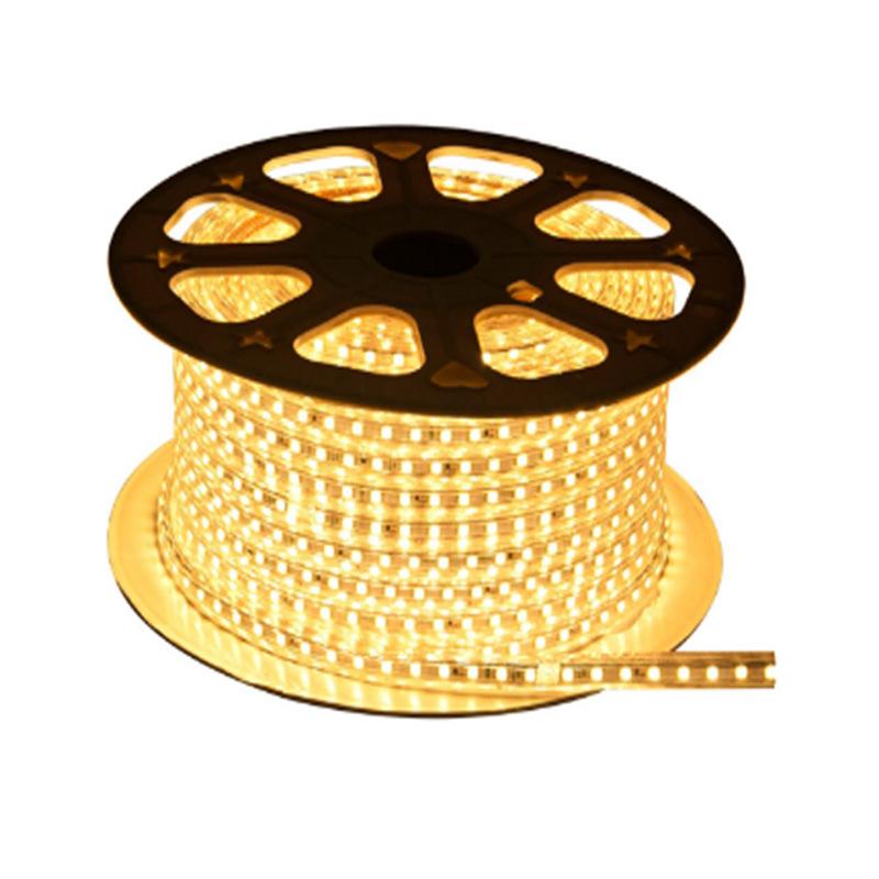 SHANGJIE Đèn LED dây Nhà máy trực tiếp dải đèn LED 2835 5050 5735 đôi hàng ba hàng TV nền tường khôn