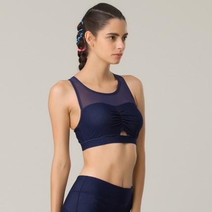 Thị trường bảo hộ lao động  Hosa hosa đồ lót thể thao mới phụ nữ chạy giảm xóc tập gym yoga chéo dây