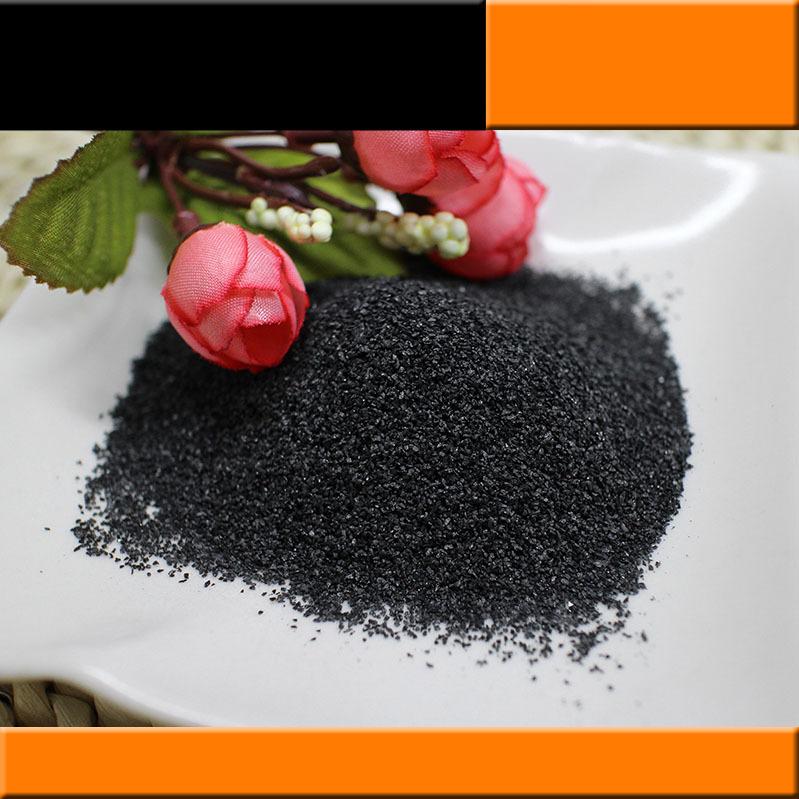 BAOZHONG Vật liệu mài mòn Nhà máy trực tiếp phun cát rỉ sét nung đen hợp kim nhôm mài mòn hợp kim nh