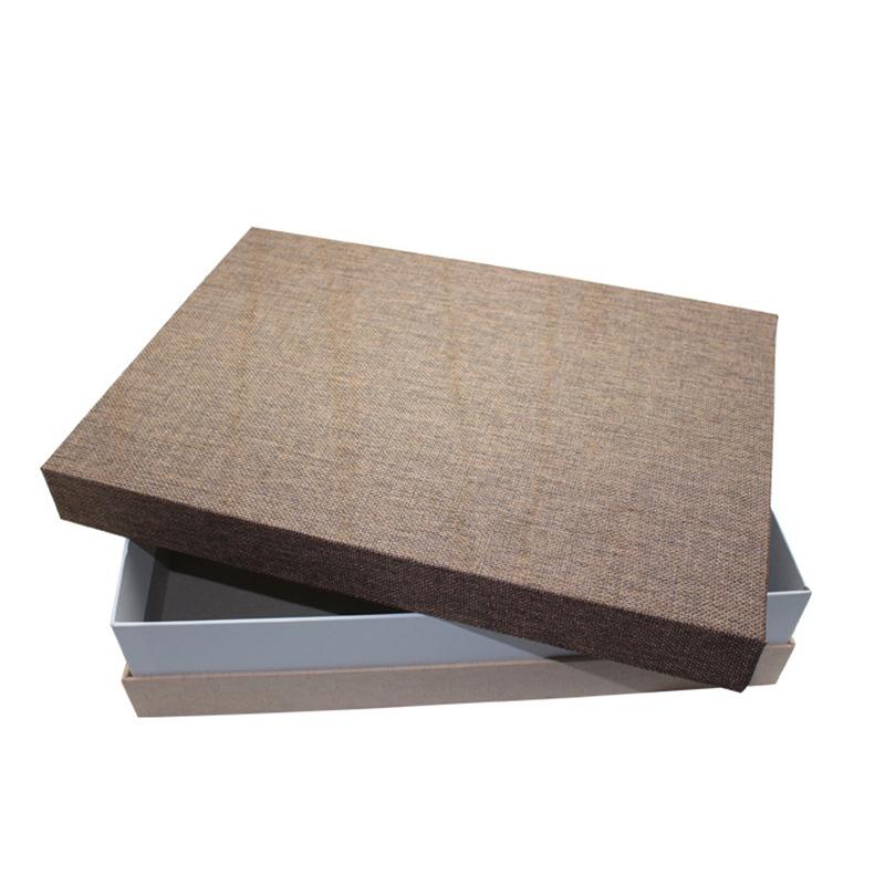 Thị trường bao bì khác / bao bì vải / bao bì giấy Vải bố màu cứng hộp quà tặng tùy chỉnh nhà sản xuấ