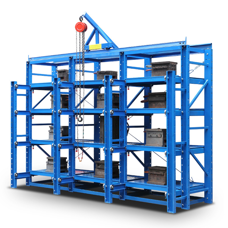 Kệ khung sắt lưu trữ hàng hóa nặng .