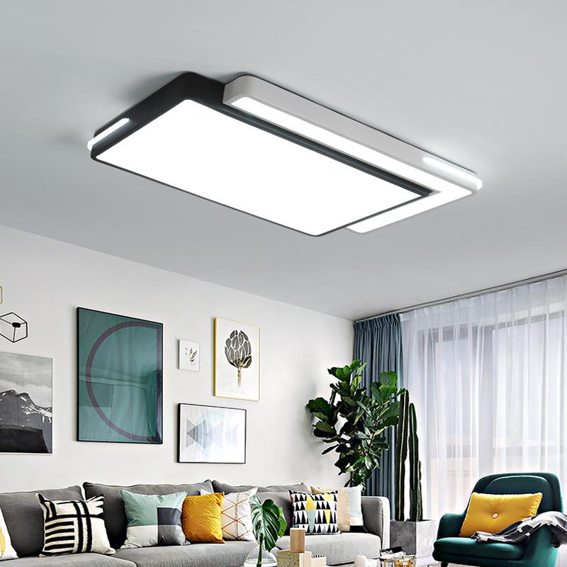 LIANGDIYA Thị trường chuyên phân phối LED Đèn hình chữ nhật led phòng khách Trang trí nội thất phòng
