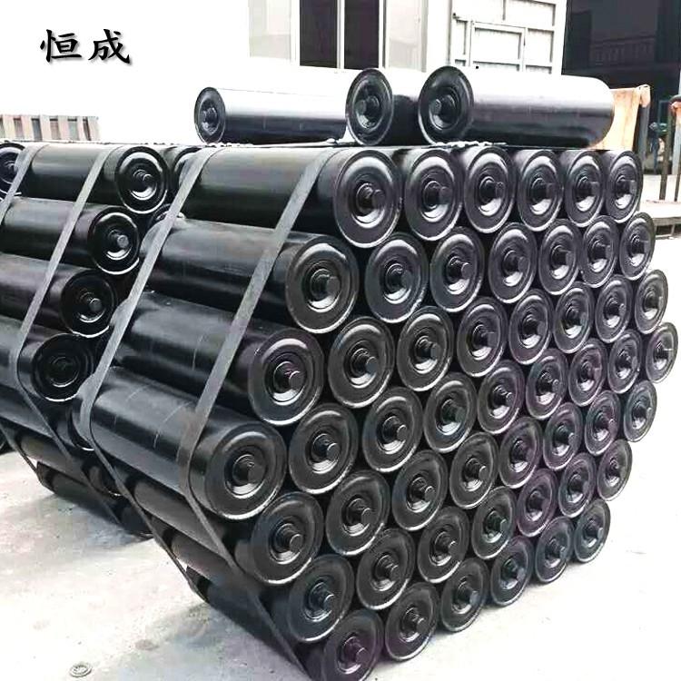 HENGCHENG Con lăn vận chuyển / Con lăn băng tải Các nhà sản xuất con lăn sản xuất đệm cao su ba con