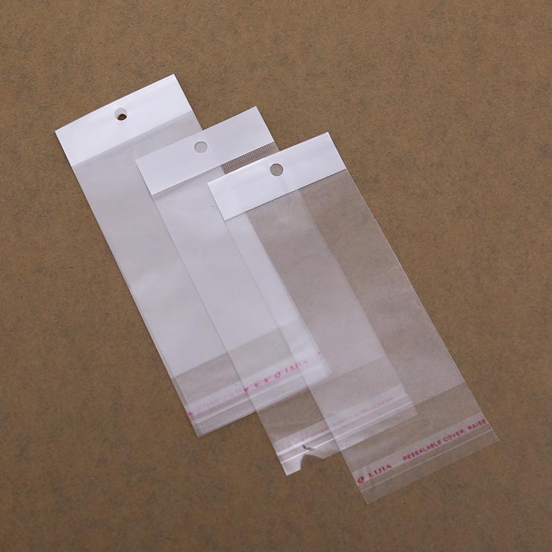 LVYIN Túi opp OPP ngọc trai màng chuck túi trong suốt tự dính / túi in tùy chỉnh / In thang máy OPP