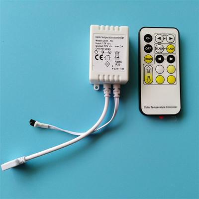 Bộ điều khiển nhiệt độ màu mờ hơn hai đèn màu thanh hồng ngoại IR15