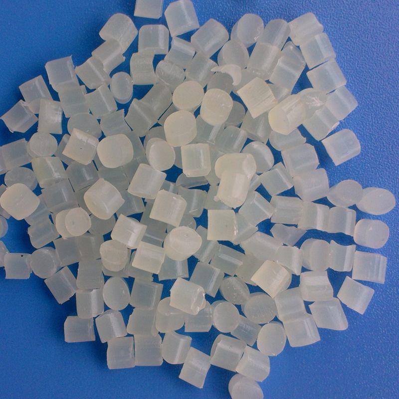 Nhựa tái sinh Chất liệu tái chế tại chỗ TPU85 độ vật liệu tái chế viên ép phun lớp chống mòn chất li