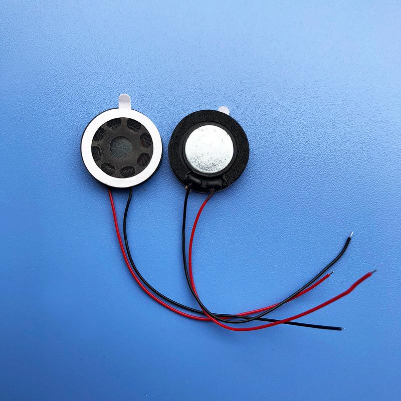 HUAYU Loa 81W 1W 8 Euro với loa tự dính màu trắng Loa điện thoại di động đường kính diameter20mm