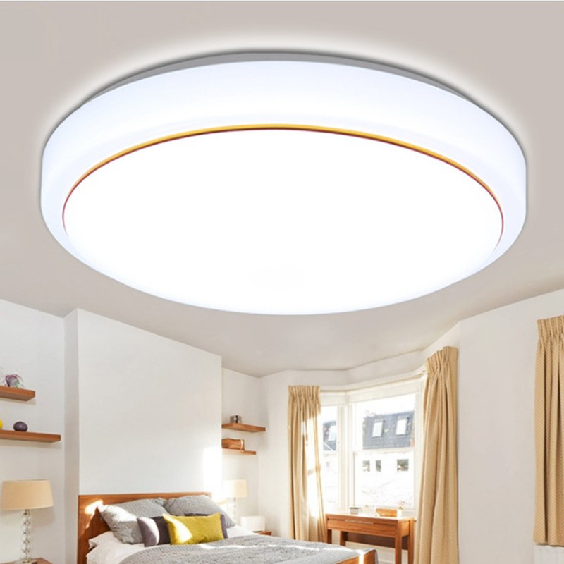 QIHAO Thị trường chuyên phân phối LED Led đèn trần hiện đại tối giản acrylic phòng khách đèn tròn le