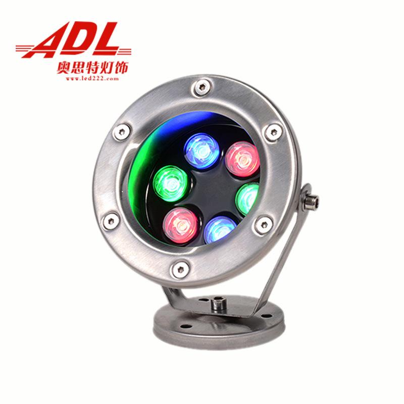 Đèn LED chiếu sáng điện áp thấp 12V24V loại nhiều màu sắc .