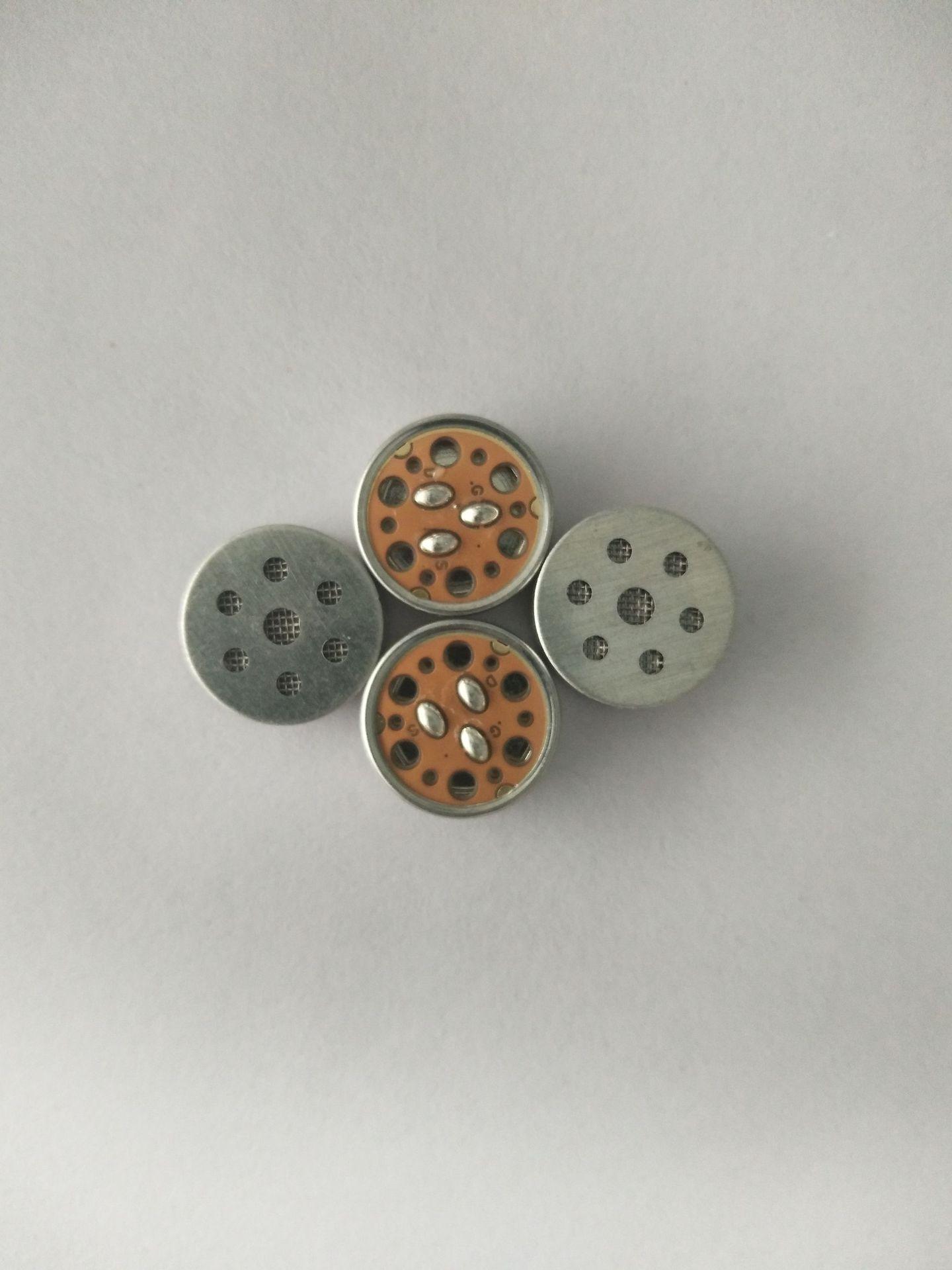 MEITAI Thiết bị điện âm Micrô thiết bị điện âm thanh micrô đơn 16mm trực tiếp
