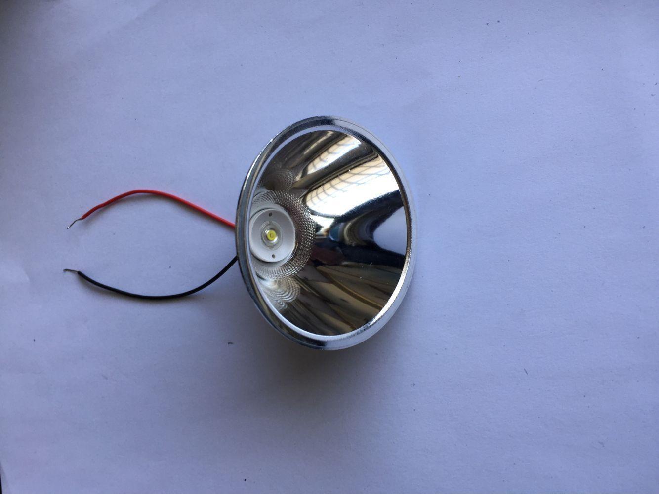 YONGNUO Cup phản quang Đèn pin câu cá có kích cỡ khác nhau Phản xạ nhựa Hợp kim nhôm cốc tập trung L