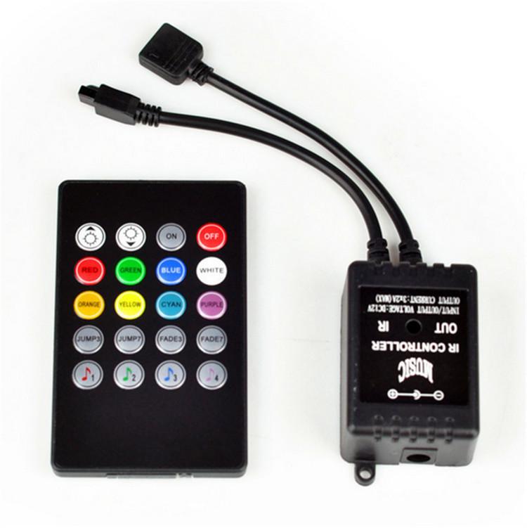 Bộ điều khiển nhạc ánh sáng Led Đèn RGB .
