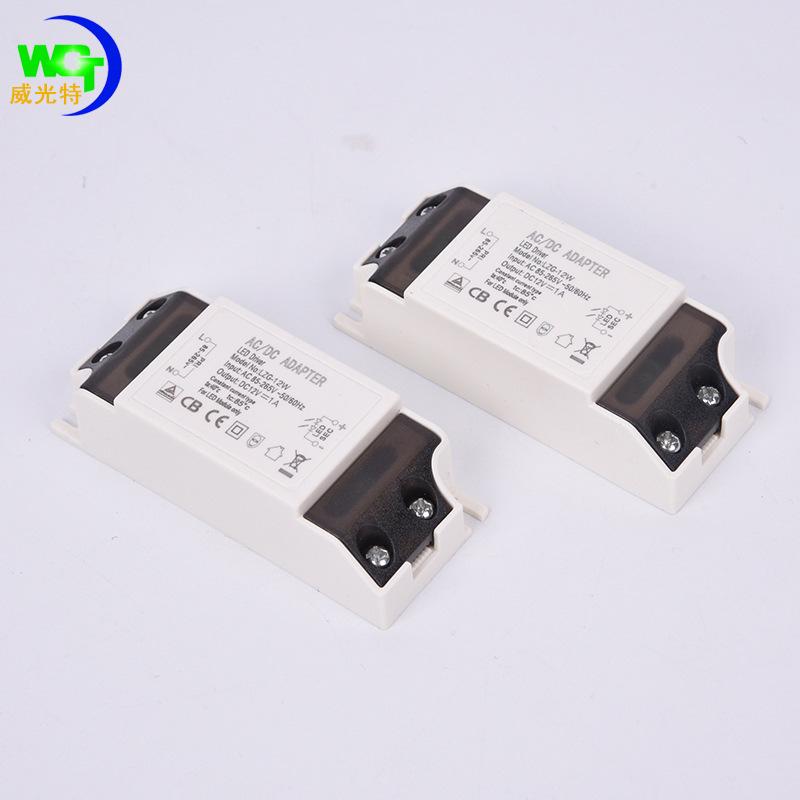 XUNPEI Bộ nguồn cho đèn LED Xuất xứ Thâm Quyến Không có thương hiệu Dejian Youke Model DPN-4-7W Loại