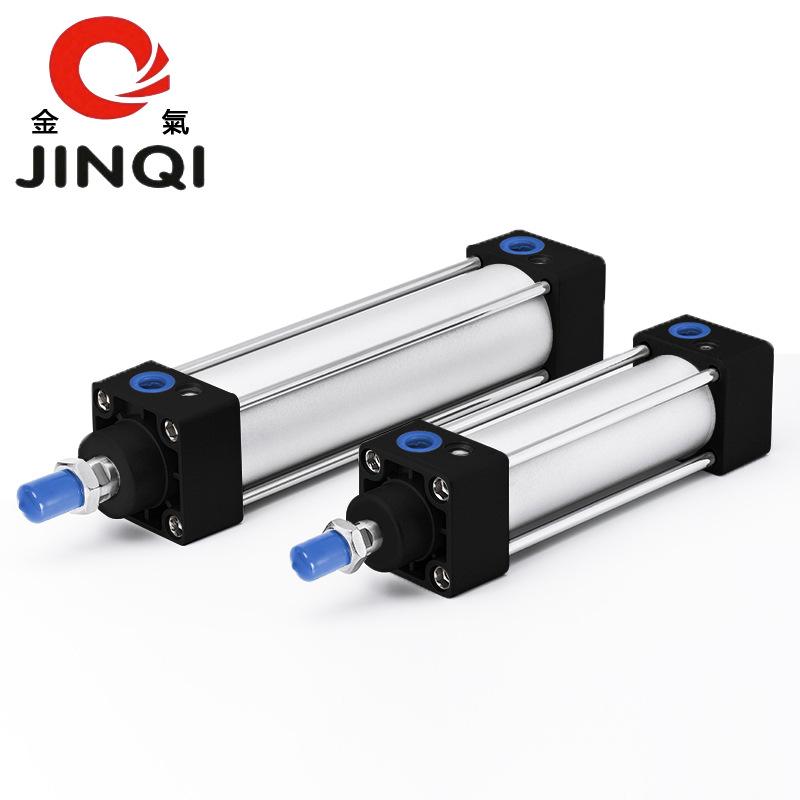 JINQI Ống xilanh Xi lanh khí vàng SC100 * 25x50-75 / 100/125 / 150/200-S Yade hành khách