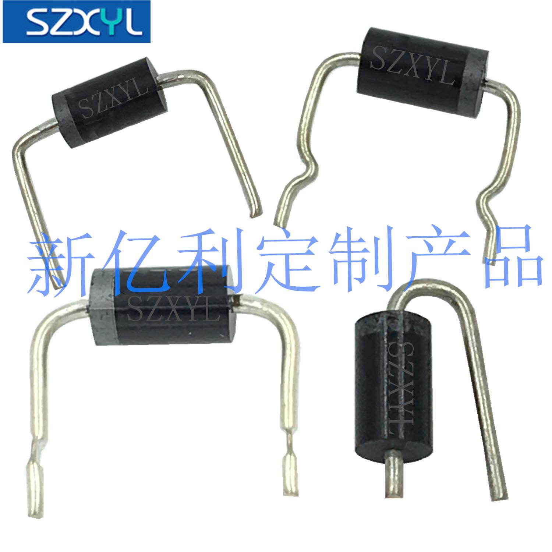 SZXYL Điốt bán dẫn Nhà máy trực tiếp Schottky Diode 1N4007 58mm DO-41 Gói chỉnh lưu Diode