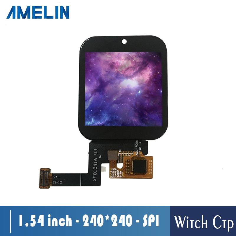 AMELIN Sản phẩm LCD Màn hình cảm ứng trực tiếp nhà máy 1,54 inch Màn hình LCD độ phân giải IPS 240 *
