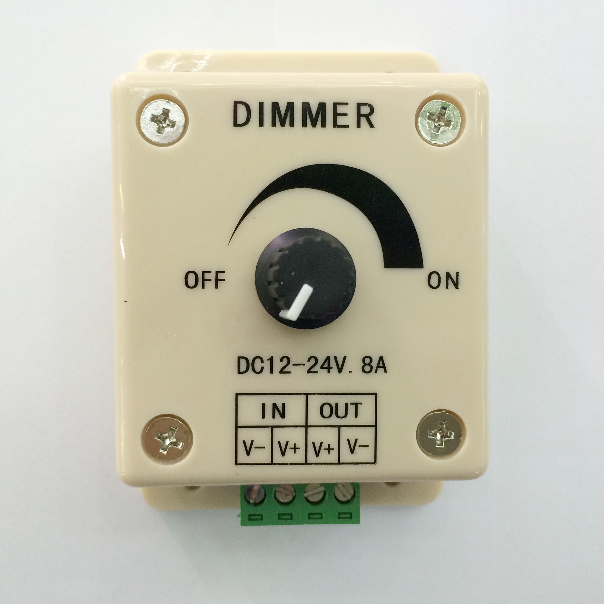 MLING Công tắc điều chỉnh độ sáng LED đơn kênh dimmer nhà máy hướng dẫn sử dụng dimmer núm điều chỉn