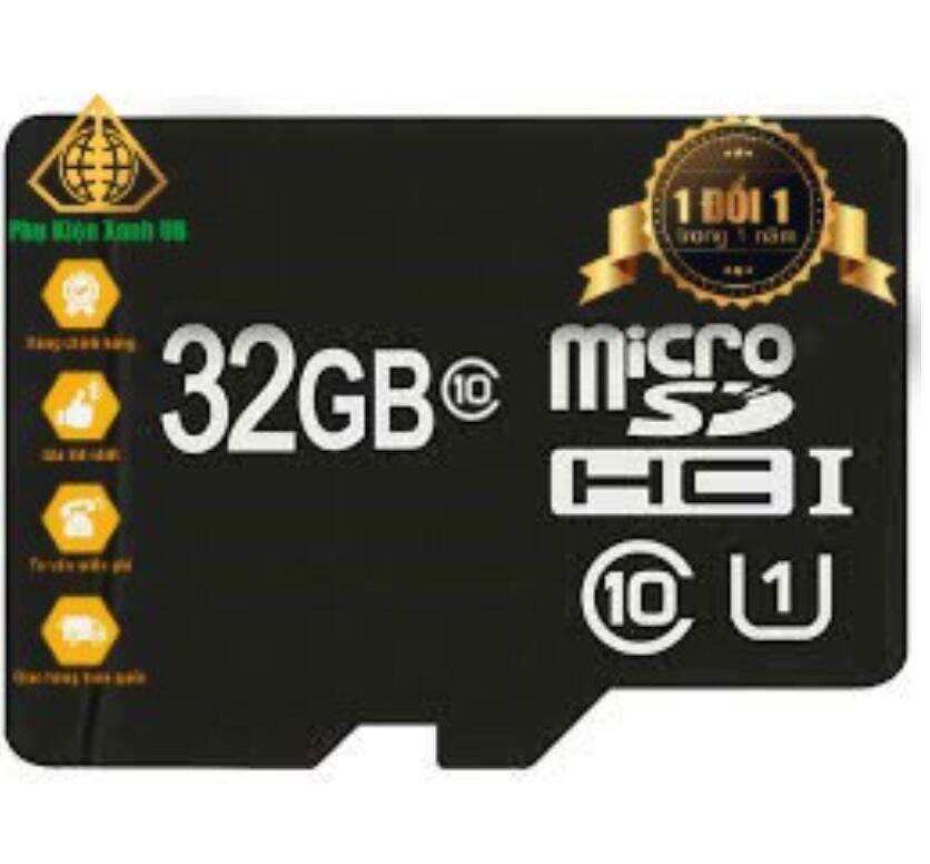 Thẻ Nhớ Micro SD 32GB Chuẩn U1