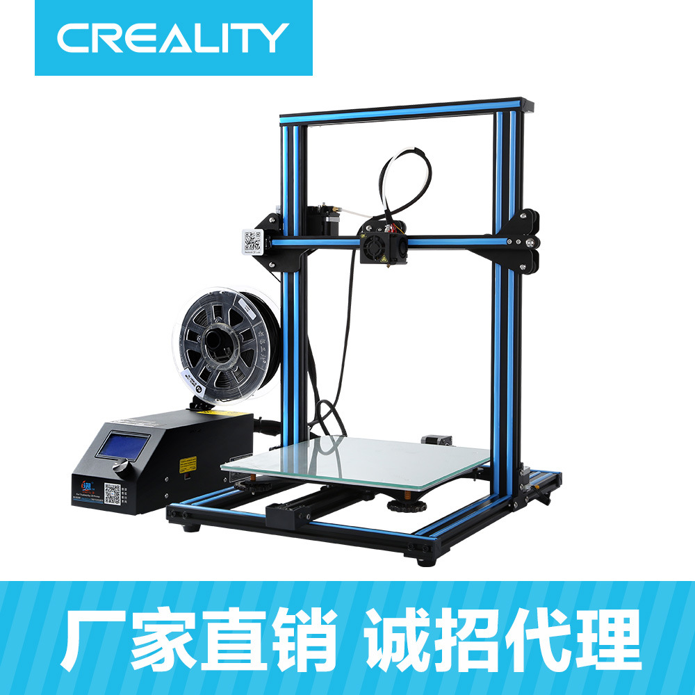 CREALITY Máy in 3D CR-10S Máy in 3d kích thước lớn Máy in stereo 3D độ chính xác cao