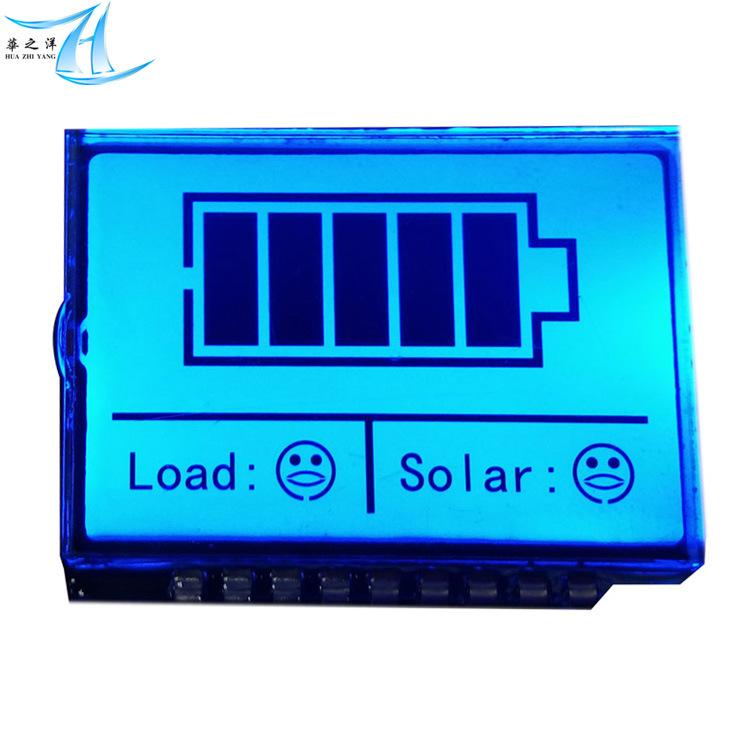 HUAZHIYANG Sản phẩm LCD Màn hình LCD nhỏ tùy chỉnh, màn hình LCD phân khúc LCD đặc biệt dành cho đèn
