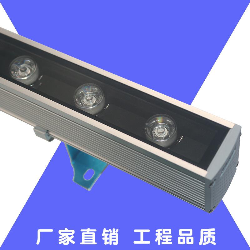 RUILISHI Đèn LED Wall Washer Led máy giặt tường dòng đèn tuyến tính không thấm nước 24V xây dựng ngo