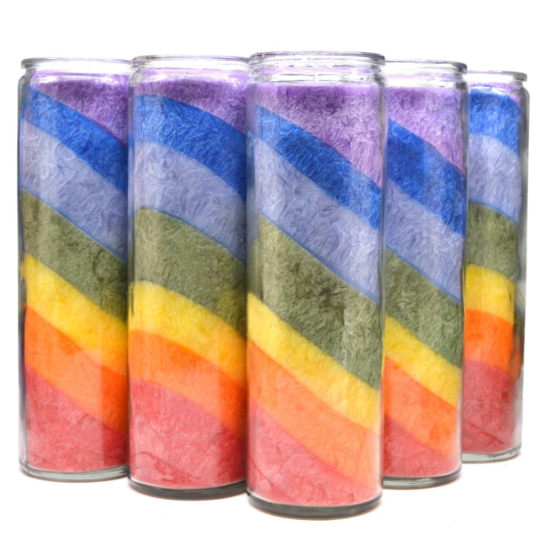 Nến ma thuật đầy màu sắc , dùng để trang trí .