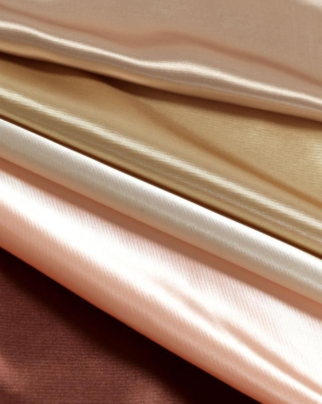 HONGYUN Vải lót Nhà máy Ke Kiều trực tiếp đồng bằng vải lụa màu lót vải