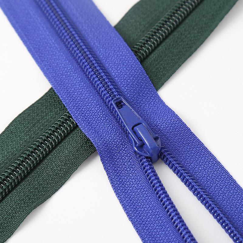 HONGSHUN Thị trường phụ kiện Quần áo mới hành lý khóa kéo 5 quần áo nylon áo khoác mở khóa kéo dài h