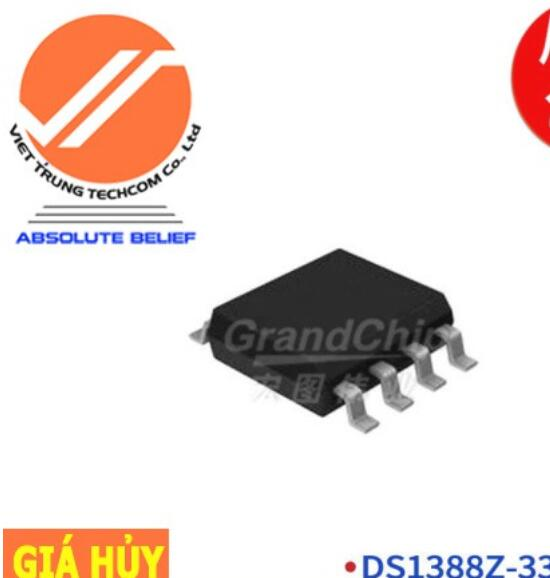 Chíp IC DS1388Z-33+T-R Chip IC-