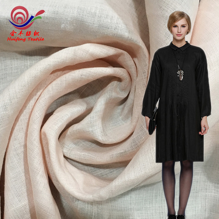 Vải Hemp ( Ramie) Vải điểm bán buôn vải lanh tinh khiết ramie màu nhạt quần áo áo sơ mi quần mùa hè