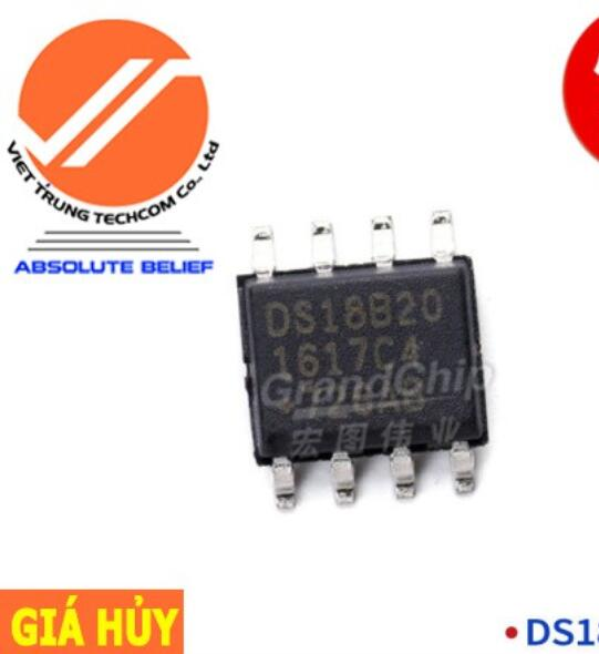 Chíp IC DS18B20Z+T IC Chip