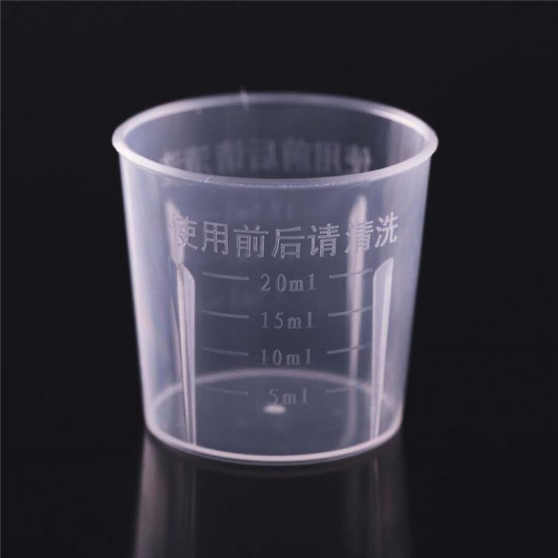 cốc nhựa đo lường 20ML cốc nhựa đo xi lanh nhỏ