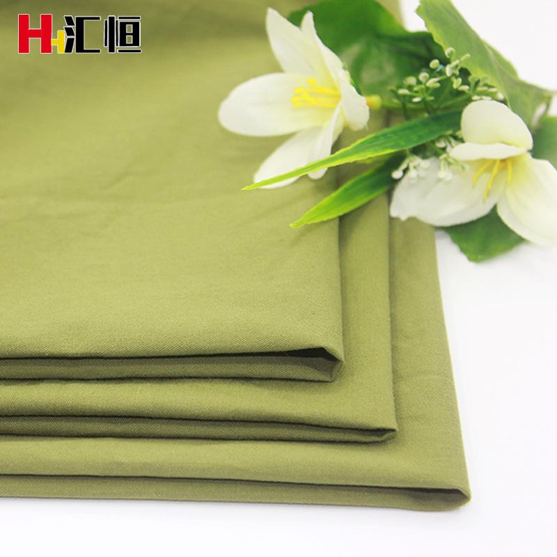 SUITENG Vải Twill Cotton giặt mật độ cao xiên vải Quần áo thường mặc vải Cotton sợi thẻ Thời trang t