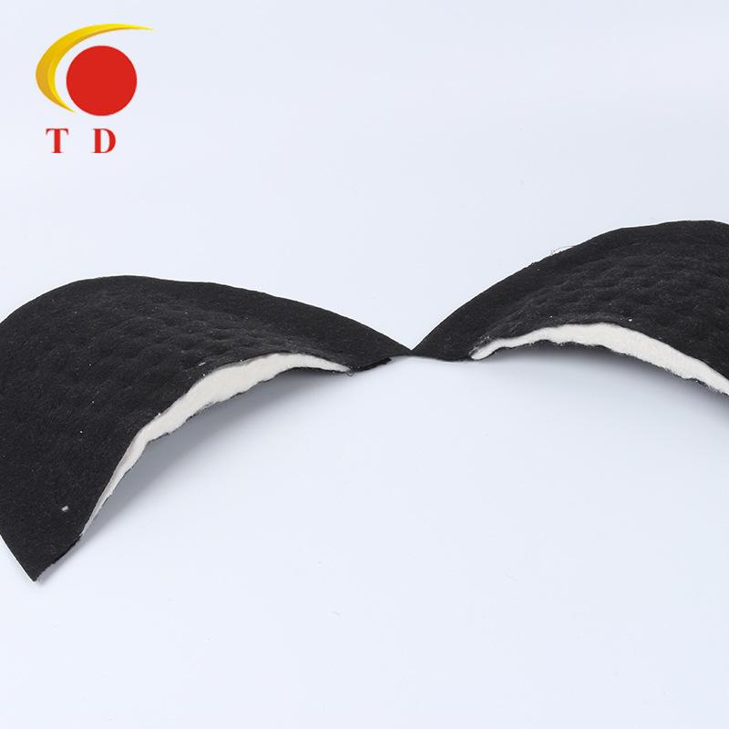 TD đệm vai áo Nhà sản xuất bán buôn phù hợp với vai pad áo khoác áo gió vai phụ kiện quần áo chế biế