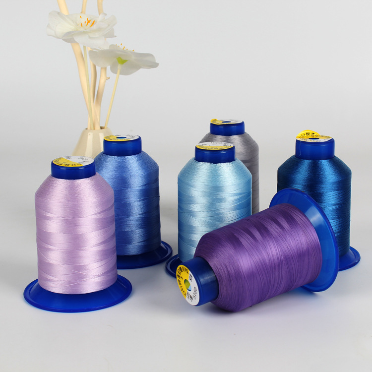 BAIZHEN Chỉ may Nhà sản xuất bán buôn chỉ may sợi polyester trăm kim dòng cường độ cao Quần áo đồ ló