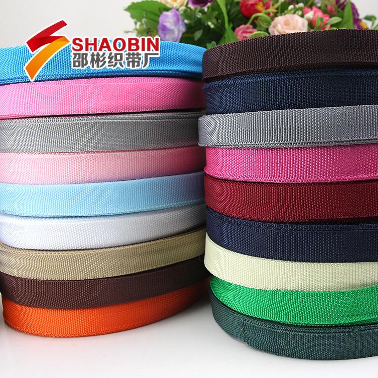 SHAOBIN đai dệt Phụ kiện hành lý ruy băng màu ngoài rìa 900D