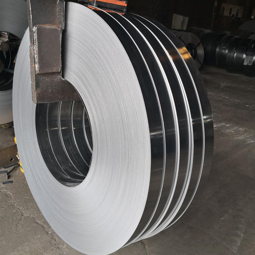 Tôn cuộn Có thể sản xuất thép dải đen cán nguội thép dải thép lạnh có thể được chia thành các thông