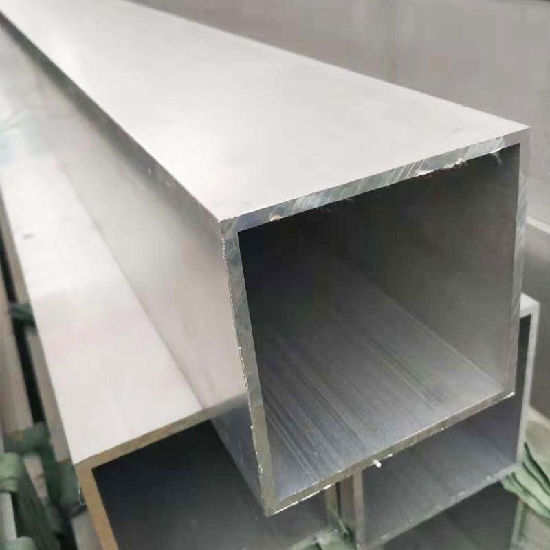 CY NLSX Nhôm Nhôm vuông ống 100 * 100 * 5 hồ sơ nhôm công nghiệp 6063 đùn nhôm vuông vượt qua tường