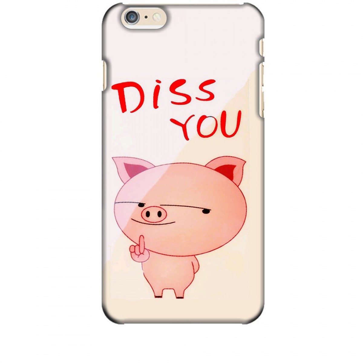 Ốp Lưng iPhone 6 Plus Pig Cute