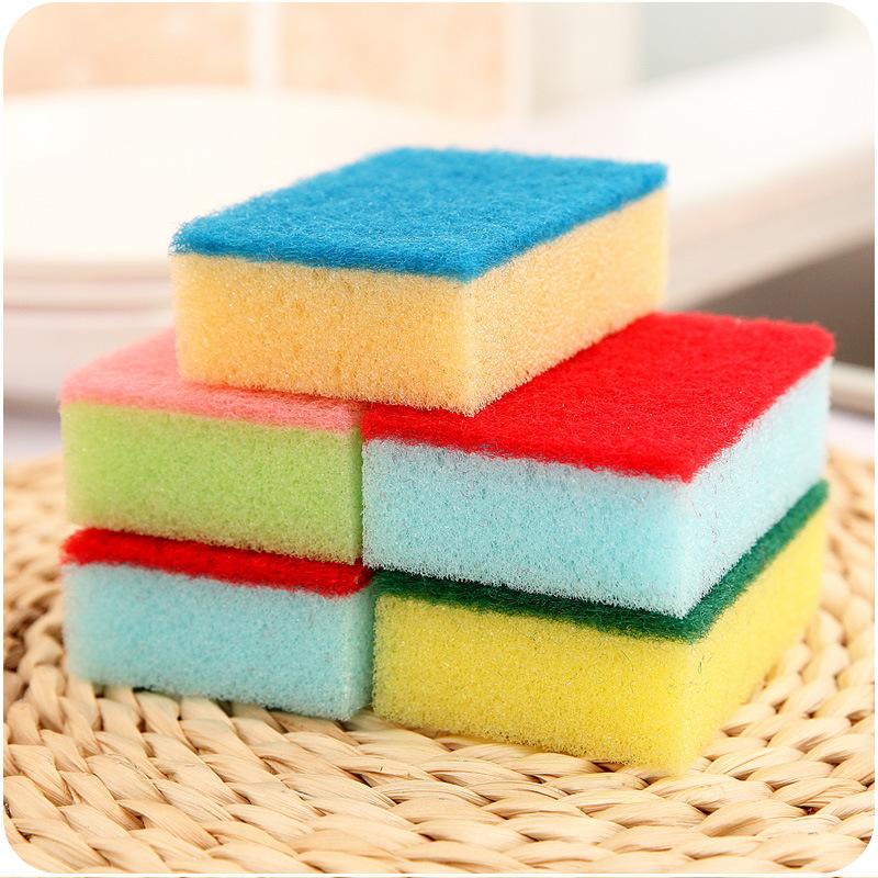 AFDS Mút A185 đầy màu sắc lau nhà khử trùng bọt biển lau chén rửa chén bát rửa chén bếp
