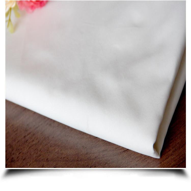 ZHIYIN Vải mộc sợi hoá học 350T Chun Yafang vải màu xám 50D / 144F nhà máy dệt sợi hóa học dệt trắng