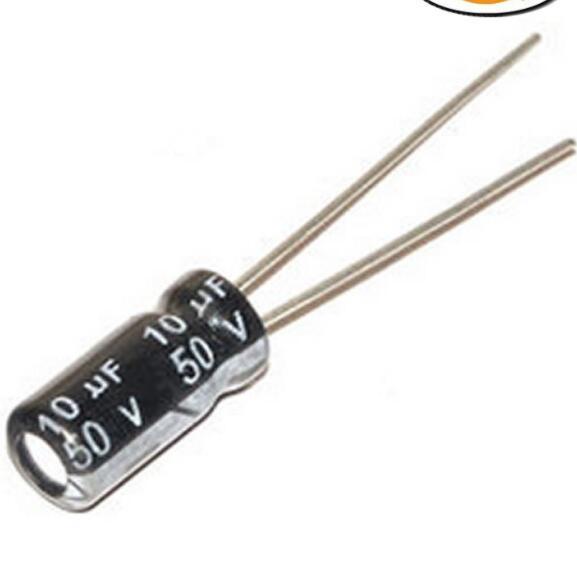 tụ điện nhôm 10uf 50v 5*11 chuyên dụng