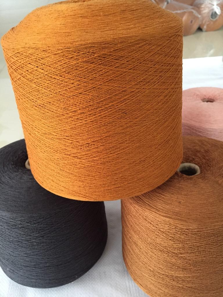 Sợi tơ lụa Jin Yi Yu Kéo sợi 55% lụa tơ tằm 45% cotton sợi bông 60nm / 2 sợi tơ tằm