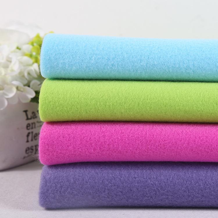 JIAXUAN Vải French Terry (Vấy cá) Nguồn nhà sản xuất Vải nhung mềm mại một mặt đàn hồi thấp Vải poly