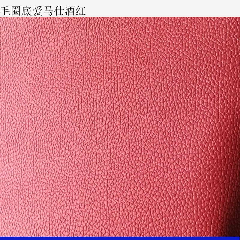 YONGDI Simili tổng hợp Nhà máy bán buôn Tùy chỉnh Hermes PVC da nhân tạo Da tổng hợp Túi da chân chố