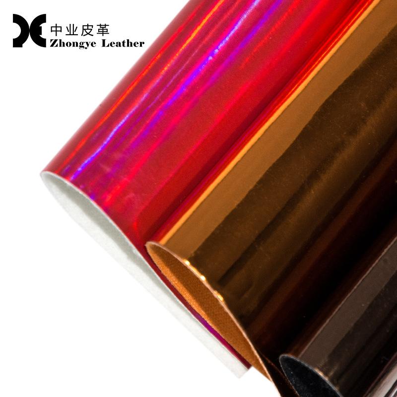 ZHONGYE da Nhà máy trực tiếp ngành công nghiệp da công nghiệp kim loại đầy màu sắc lá 0,7mm lông túi