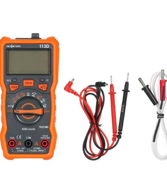 Đồng hồ đo điện vạn năng richmeters rm113d ncv 6000 COUNTS
